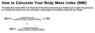 Calcutate BMI