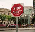 Stop Arret
